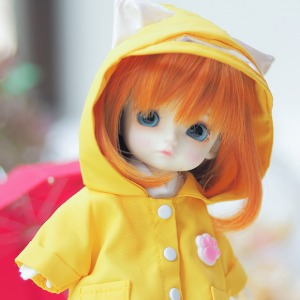 [PETIT16] Kitty Raincoat(Yellow)