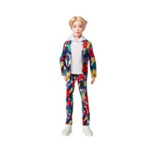 BTS Official Ball Joint Fashion Doll Jin