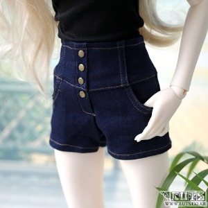SDF High waist hot Pants (Denim)