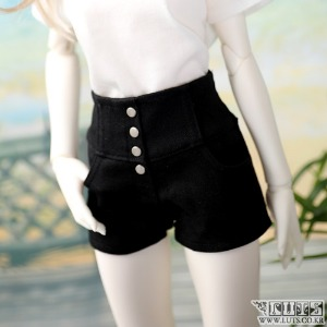 SDF High waist hot Pants (Black)