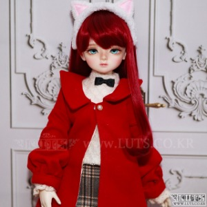 KDF Winter Lady Set (Red)